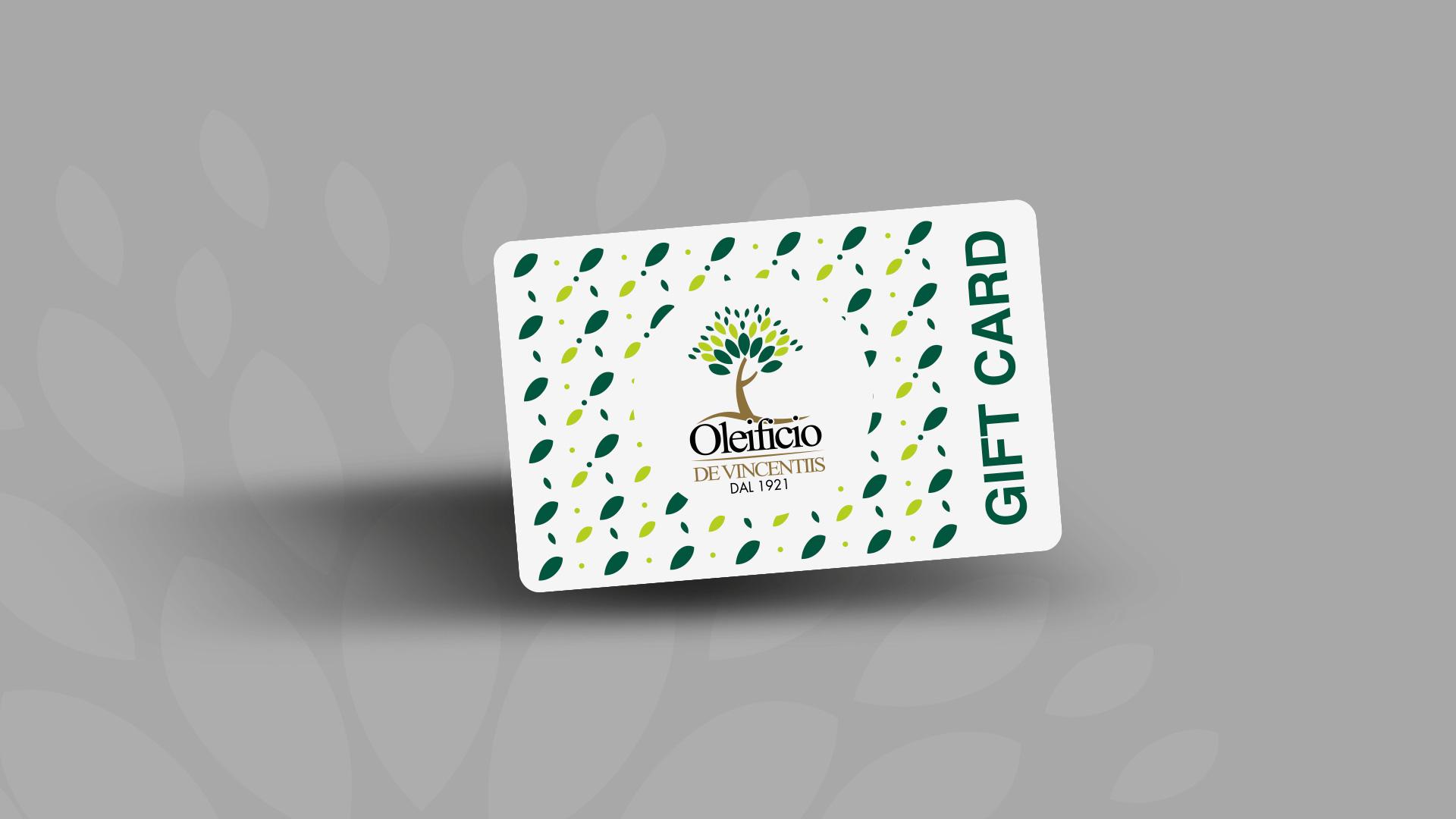 Gift Card - Oleificio De Vincentiis - Prestigio Abruzzese